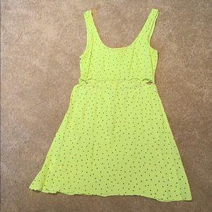 BCBG yellow summer dress XS